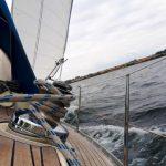 Близ острова Вормси за борт упал капитан парусника