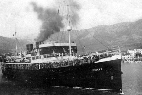 Установить имена погибших на теплоходе «Армения» в 1941 году поможет новый сайт