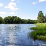 Температура воды в реках и озерах Латвии - до +23 градусов