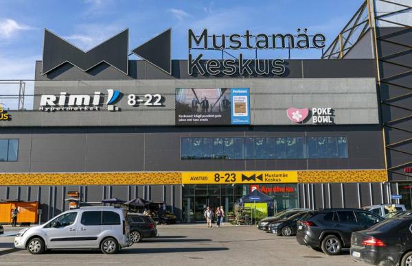 В Мустамяэ вчера эвакуировали посетителей торгового центра