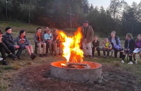 Международный лагерь российских юных разведчиков открыли в Германии