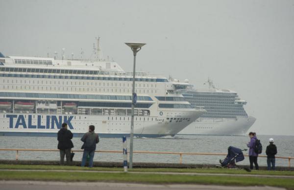 Tallink потерял более двух миллионов пассажиров