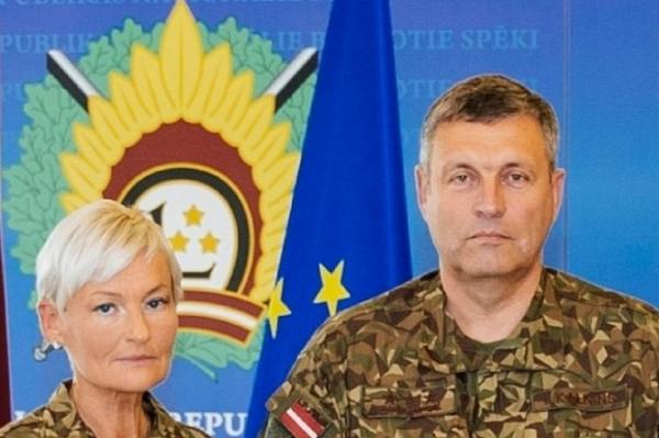 Исторический момент: первой женщине в НВС присвоено звание полковника