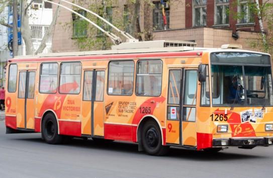Молдавским либералам не удалось запретить акцию «Троллейбус Победы» в Кишинёве