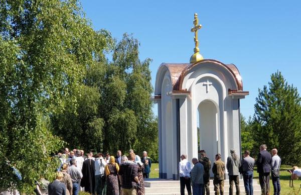 В эстонском Маарду открыли построенную на пожертвования Часовню памяти