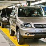 Как сильно упало в России производство легковых авто и грузовиков