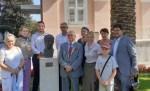 Памятник Сергею Есенину открыли в хорватском городе Опатия