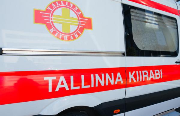 При аварии в Таллинне пострадали два водителя