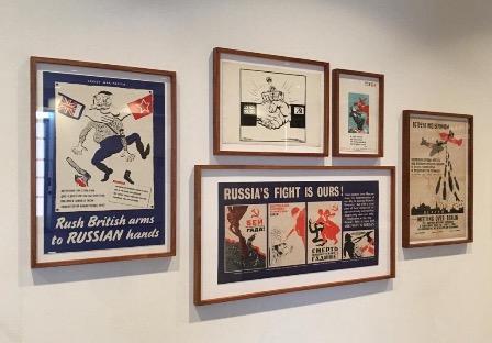 В Австралийском военном мемориале открыли выставку о роли Советского Союза в Победе над гитлеровцами