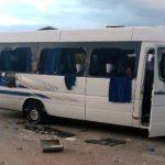 На Украине националисты напали на автобус с оппозиционерами