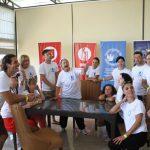 Участники летней театральной школы в Грузии продолжают совершенствовать свои навыки