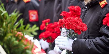 В Латвии прошла акция памяти в честь советских солдат, освободивших республику от гитлеровцев