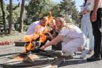 Частица Вечного огня доставлена в Пятигорск