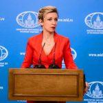 Мария Захарова: Брюссель противоречит фактам, пытаясь уравнять СССР и фашистскую Германию