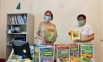 Книги на русском языке получила библиотека в Алма-Ате