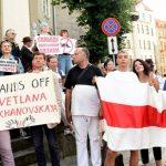 В знак поддержки народа Белоруссии сегодня в Латвии выстроятся в живую цепь