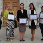 Представители Совета молодых российских соотечественников Киргизии награждены за помощь в борьбе с Covid-19