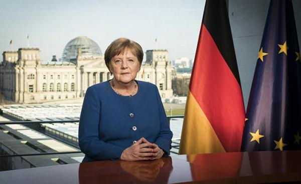 Bloomberg США : у Ангелы Меркель опять проблема с Путиным
