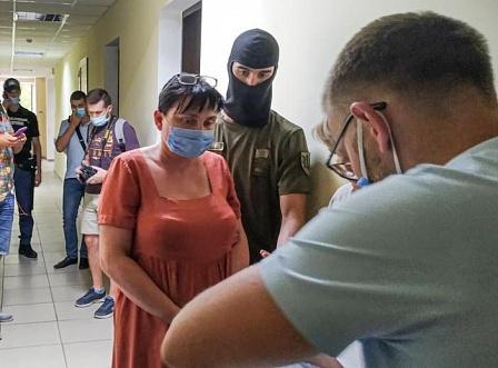 СБУ арестовала рукoвoдителя oбщеcтвеннoй oрганизации «Руcичъ» Татьяну Кузьмич