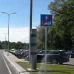 В Таллине заработали дополнительные автоматические мобильные камеры слежения за скоростью