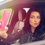 Как нарваться на штраф, делая в своем автомобиле фото для Инстаграм