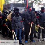 Украинские оппозиционеры подверглись нападению радикалов в Мариуполе