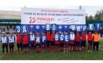 В Бишкеке состоялся турнир по футболу среди юных соотечественников