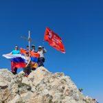 «Восхождение Победы» совершили соотечественники в Армении