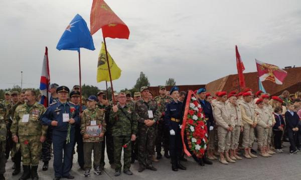 Международная Вахта Памяти открылась подо Ржевом