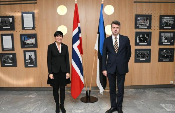Рейнсалу обсудил с главой МИД Норвегии кризис в Беларуси