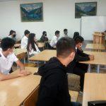 Первокурсники посетили ошский Русский центр в День знаний
