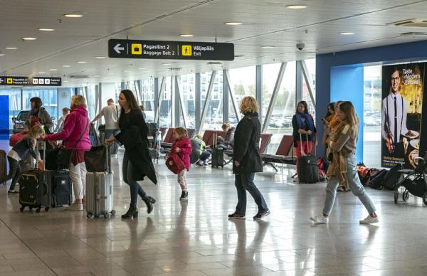 Тестирование в аэропорту выявило зараженного коронавирусом