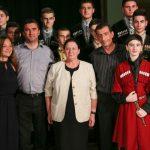 Участники фестиваля «Вместе в XXI веке» отмечены дипломами