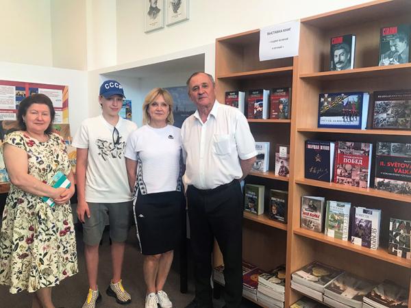 Выставка книг «Подвиг великий и вечный. 75 лет Победы» открылась в Братиславе