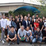 Совет молодых российских соотечественников Киргизии встретился с молодежью г. Кара-Балта