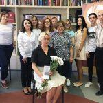 Русский центр в Бельцах поздравил городскую библиотеку с юбилеем