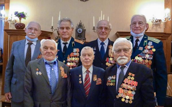 В литовской Клайпеде отметили 75-летие окончания Второй Мировой Войны.