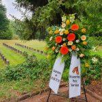 В немецком Саарланде привели в порядок советские воинские захоронения