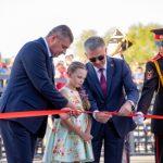 Парк в честь Екатерины II открыли в Тирасполе