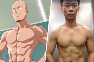 Как тренируется Ванпанчмен? Фитнес-челлендж самого сильного персонажа аниме