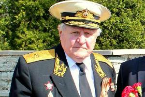 Единственный в Эстонии советский контр-адмирал Иван Иванович Меркулов отмечает своё 90-летие