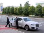 Президент Татарстана «оседлал» Aurus Senat