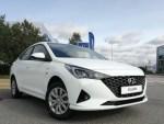 В России представили новую версию Hyundai Solaris