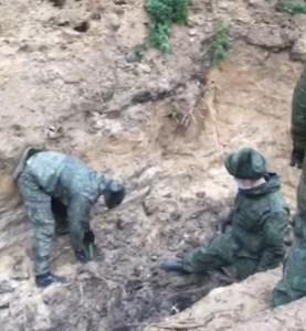 Останки жертв нацистских преступлений нашли под Псковом