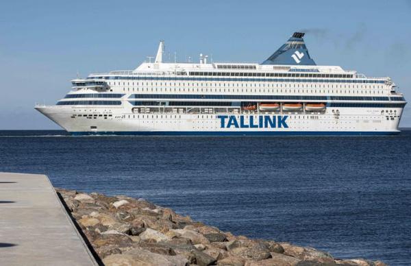 Число пассажиров Tallink за год упало на 66 процентов