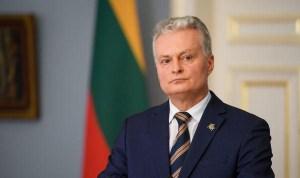 Президент Литвы рад активности избирателе, надеется на объединяющую политкультуру