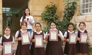 Дети в Палестине подготовили выставку работ о России и изучении русского языка