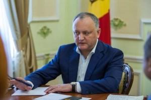 Игорь Додон: российское ТВ должно быть доступно в Молдавии