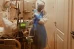 Крик души латвийского медика: не трудно ходить в маске, трудно дышать c Cоvid-19