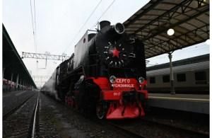 «Поезд Победы» отправился из Москвы
